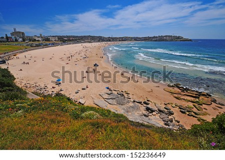 Bondi Beach, Sydney Australia - stock photo