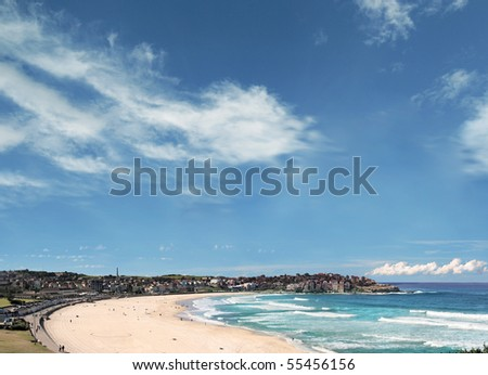Bondi Beach. Sydney, Australia - stock photo