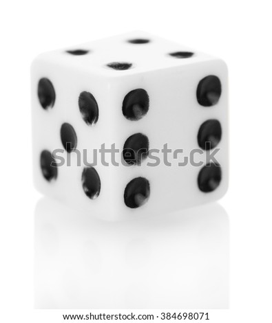 Bone 3D for games isolated on white background. Close-up. - stock photo