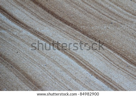 bone marble with thiny line - stock photo