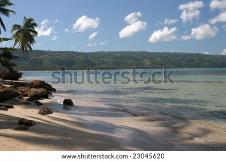 Bonita beach, Las Terrenas, Samana peninsula, Dominican Republic
