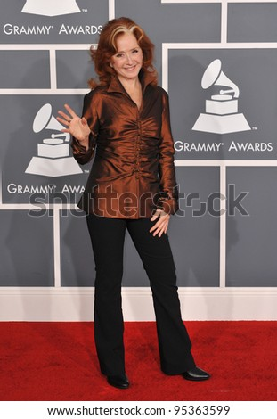 Bonnie Raitt at the 54th Annual Grammy Awards at the Staples Centre, Los Angeles. February 12, 2012  Los Angeles, CA Picture: Paul Smith / Featureflash