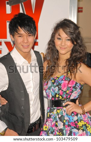 "BooBoo Stewart and Fival Stewart at ""The Spy Next Door"" Los Angeles Premiere, The Grove, Los Angeles, CA. 01-09-10"