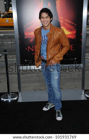 "BooBoo Stewart at the ""Nightmare On Elm Street"" World Premiere, Chinese Theater, Hollywood, CA. 04-27-10"