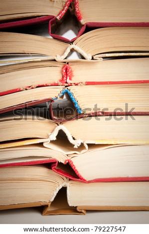 book background - stock photo