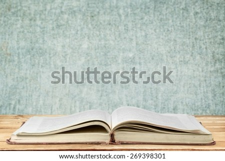 Book. Book of fantasy stories ,Reading a glowing fantasy book - stock photo