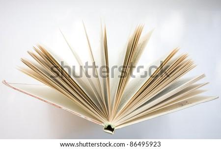 book close-up - stock photo