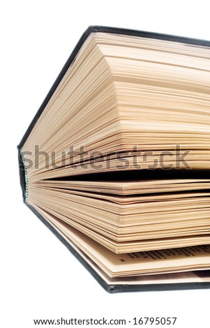 Book closeup - stock photo