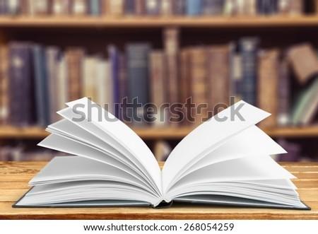 Book, concept, school. - stock photo