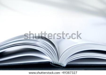 Book conceptual image. Open book. - stock photo