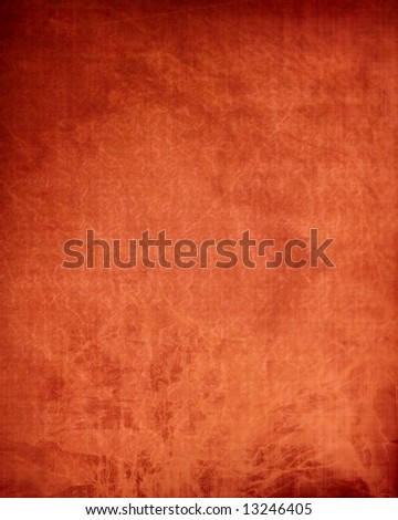 book cover made out of red leather - stock photo