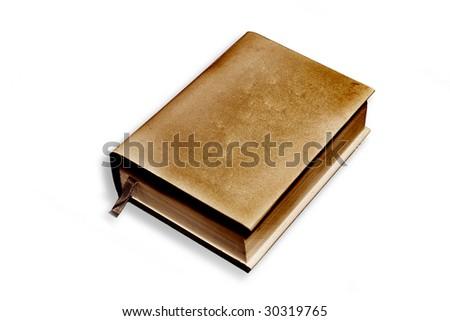 Book grunge - stock photo