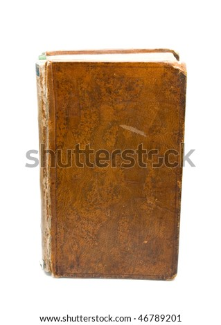 Book isolated on the white background - stock photo