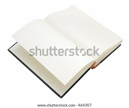 Book, isolated on white background