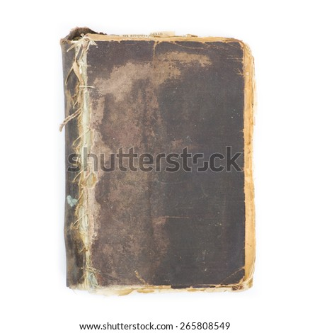 book isolated soft background