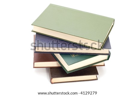 book library - stock photo