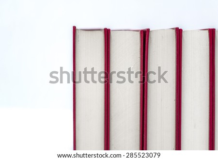 Book lined - stock photo