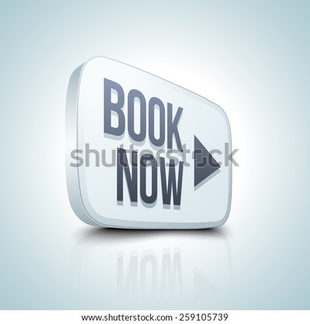 Book now button - stock photo