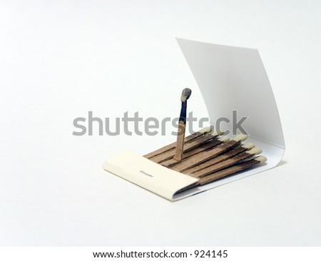 Book of Matches - stock photo