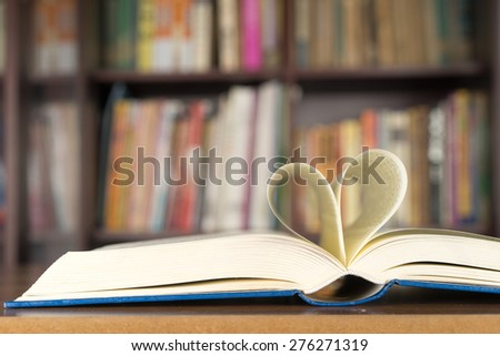 book page - stock photo