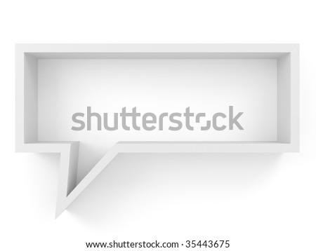 book shelve-chatbox (more variants on my portfolio) - stock photo