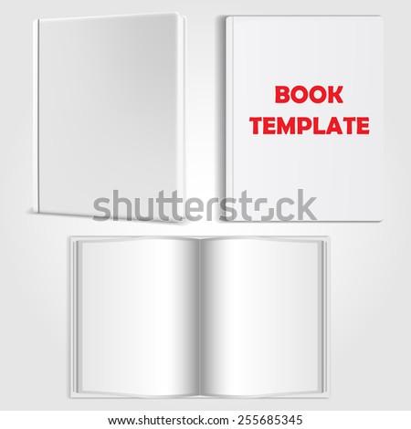 book template  - stock photo