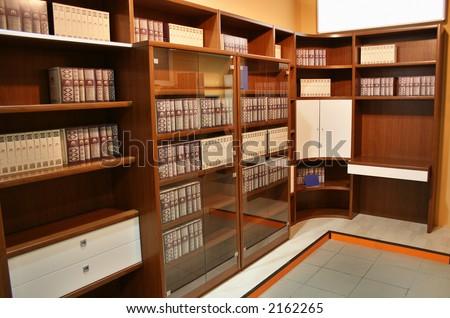 bookcase - stock photo