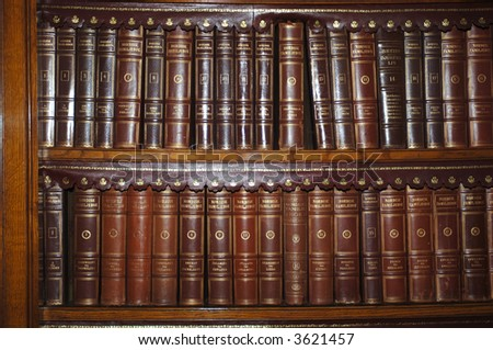 Bookcase - stock photo