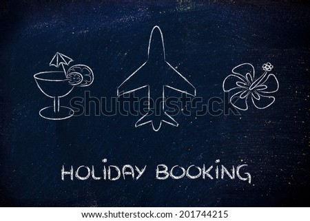 booking holidays and the travel industry