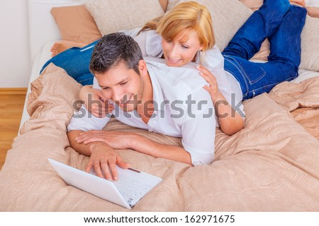 booking nice place to stay a night - stock photo