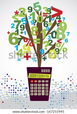 Bookkeeping - stock photo