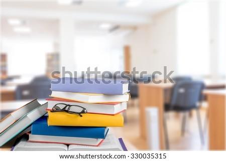 Books. - stock photo