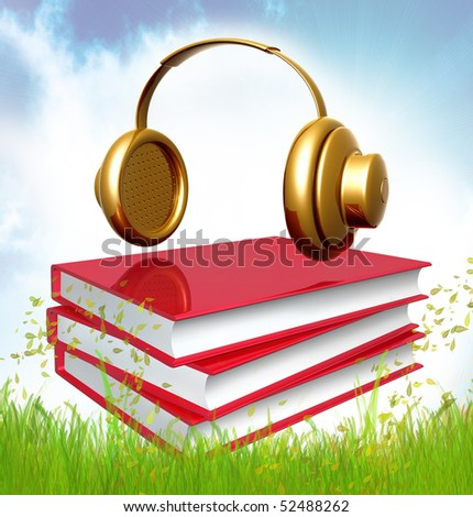 books about composing music icon illustration - stock photo