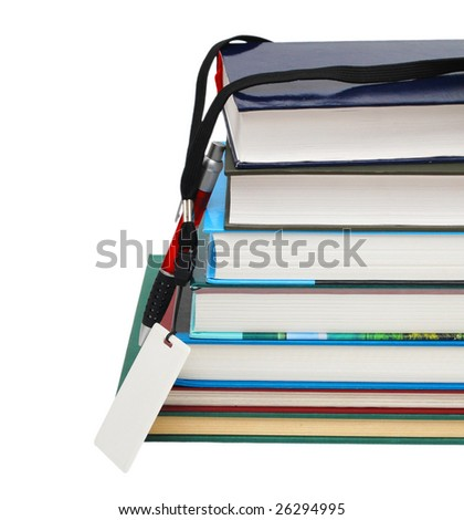 books and school back