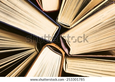 Books Background./Books Background. - stock photo
