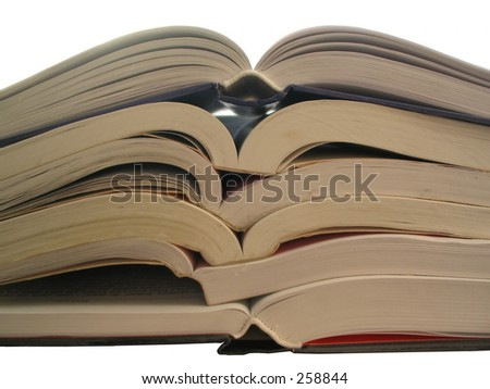 books, books, books, - stock photo