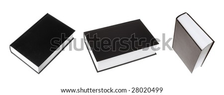 Books Isolated - stock photo