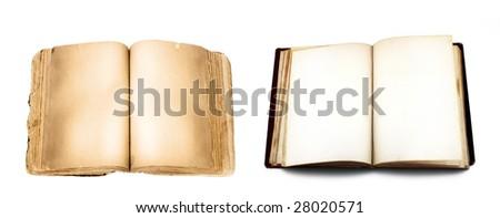 Books Isolated - stock photo