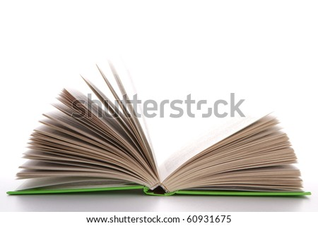 books - isolated on white background