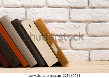 Books, knowledge, education - stock photo