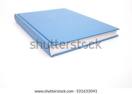 books on white. - stock photo