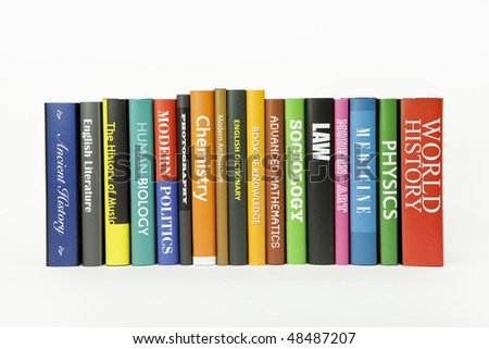 Books - various mocked up subjects (for other subjects, see my folio) - stock photo