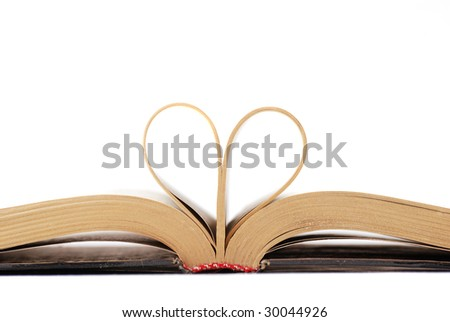 Books, which it is possible to read and overturn pages. - stock photo