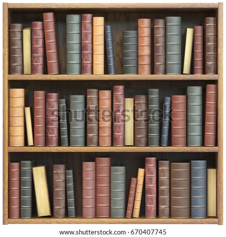 Bookcase Stock Images RoyaltyFree Images Vectors Shutterstock - Old book case