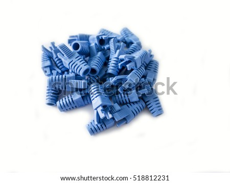 booth cover RJ45 on a white background