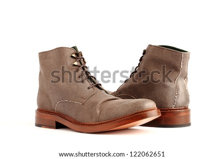 Boots Isolated