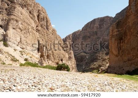 Boquillas Canyon - stock photo
