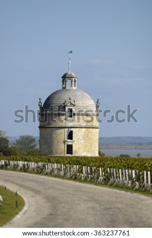 Bordeaux Chateau Latour - stock photo