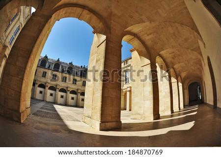 Bordeaux - Hotel de Ville (City Hall). France  - stock photo