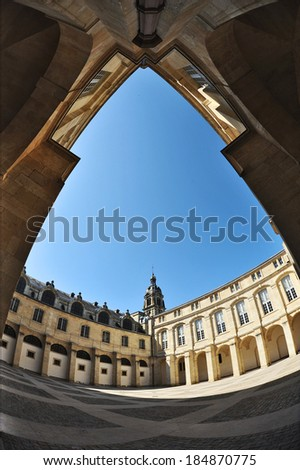 Bordeaux - Hotel de Ville (City Hall). France  - stock photo
